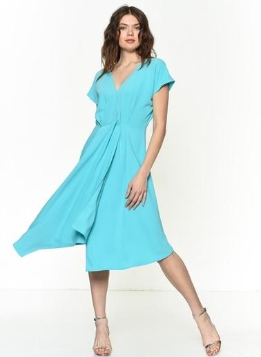 Si Design Elbise Turkuaz